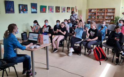 Edukacinės dirbtuvės ir knygos pristatyma Širvintose
